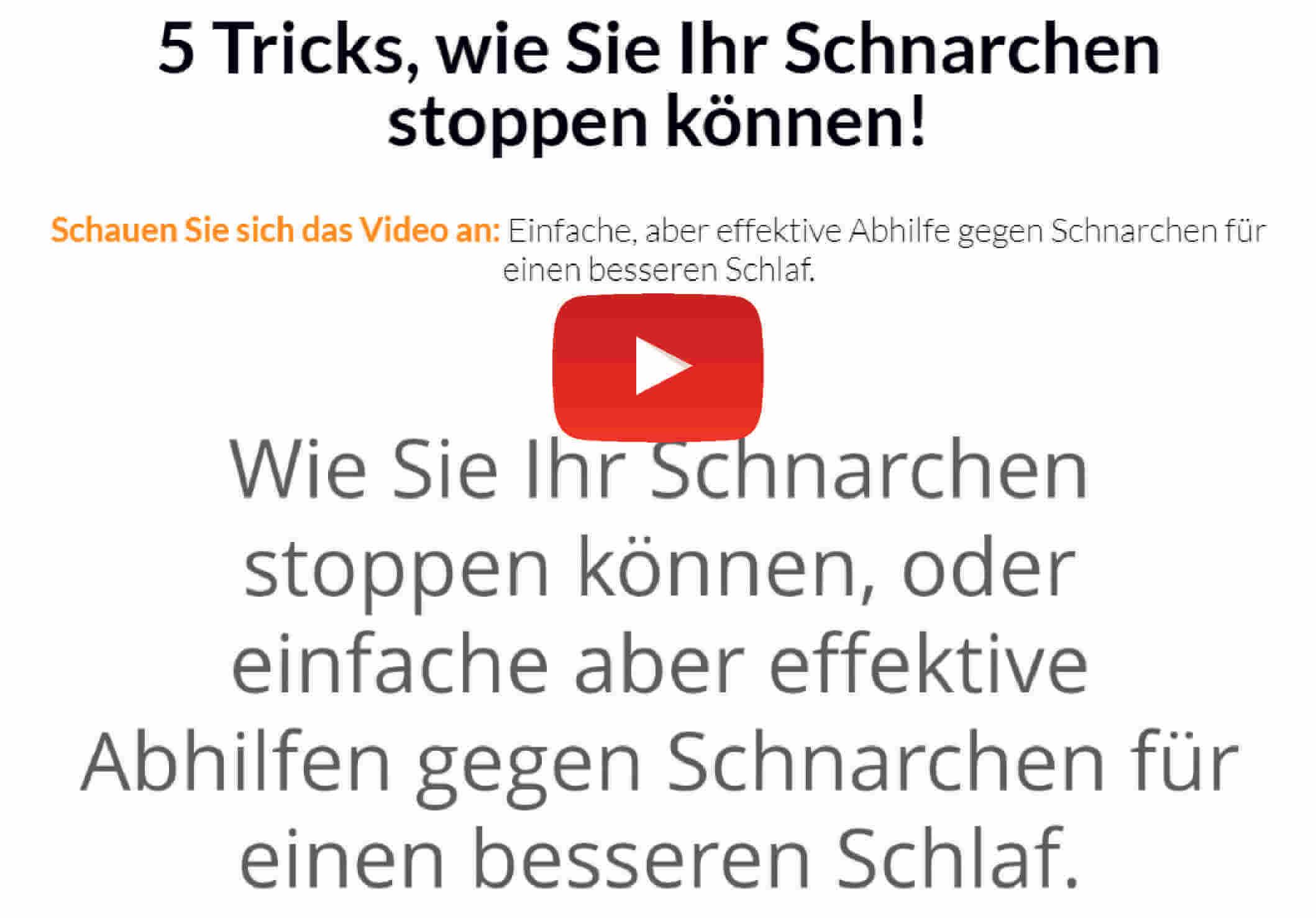 tricks wie sie ihr schnarchen stoppen können