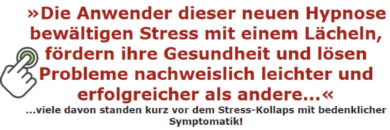 Jetzt Stress bewältigen mit Hypnose
